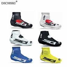 DICHSKI Bicycle Dustproof Cycling Shoe Cover Men Women Bike Shoe Cover Windproof MTB Bicycle Zippere