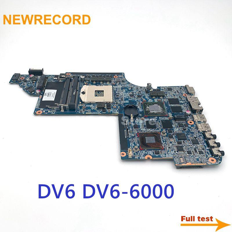 نيوسجل 650799-001 اللوحة الرئيسية ل HP بافيليون DV6 DV6-6000 اللوحة الأم HD6770M 1GB GPU HM65 DDR3 اختبار كامل