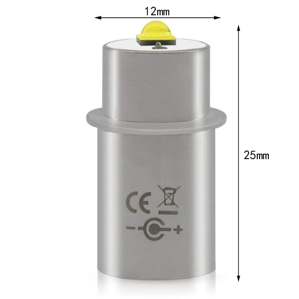 Комплект для конверсии светодиодных ламп Maglite 3 Вт 3 в 4-12 в 6-24 в 18 в, обновленная лампа 2 3 4 5 6, D/C фонарик, магниевый светильник онарик