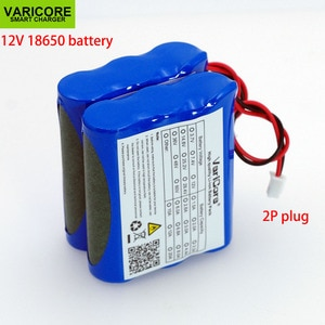 VariCore 12V 18650 1.8A 2A 2.2A 2.5A 2.6A 2.8A 3A lithium-ion Battery pack Monitor CCTV Camera battery 12.6 V  batteries