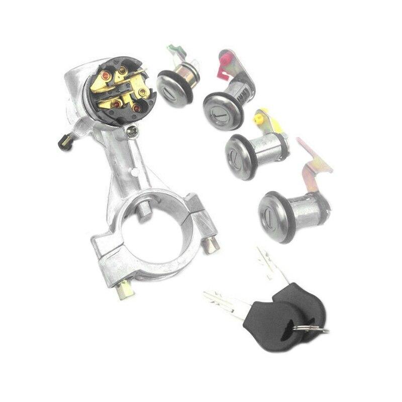 Nuevo interruptor de arranque de 5 piezas con llave para Nissan Patrol GQ Y60 1988-1998 interruptor Sentra B12 1986-On 99810-50A00