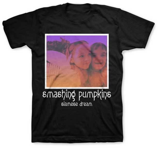 THE SMASHING PUMPKINS - Siamese Dream - T SHIRT S-M-L-XL-2XL Brand New Official Simple Short-Sleeved Cotton T-Shirt Top Tee
