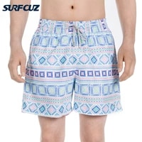 surfcuz new swimming shorts for men summer beach board shorts swim trunks with mesh lining and pockets quick dry mens swimwear