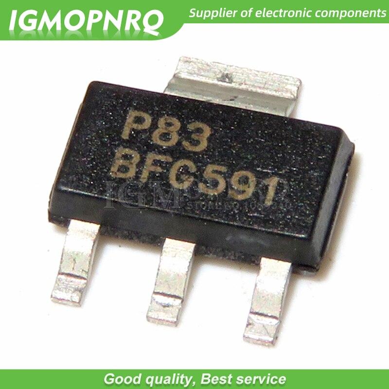 10 шт./лот BFG591 SOT-223 NPN Высокочастотный новый оригинальный транзистор, бесплатная доставка