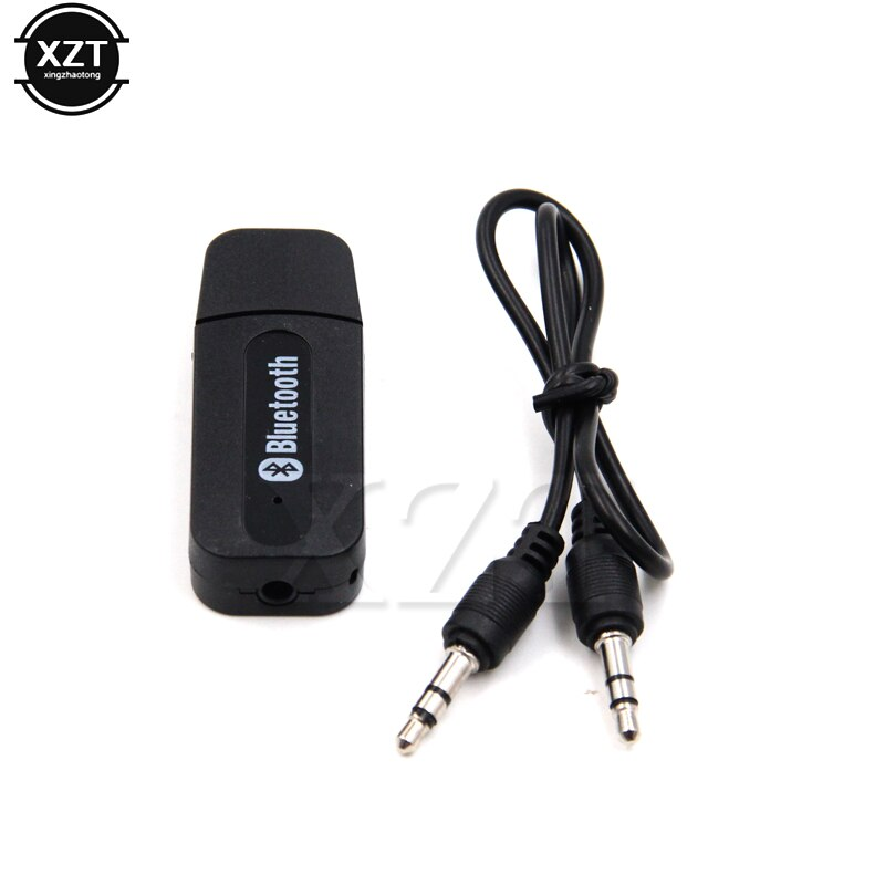 Mini portátil 3,5mm estéreo Audio Bluetooth Aux negro inalámbrico bluetooth música Audio receptor para iPhone 8 Android Teléfono