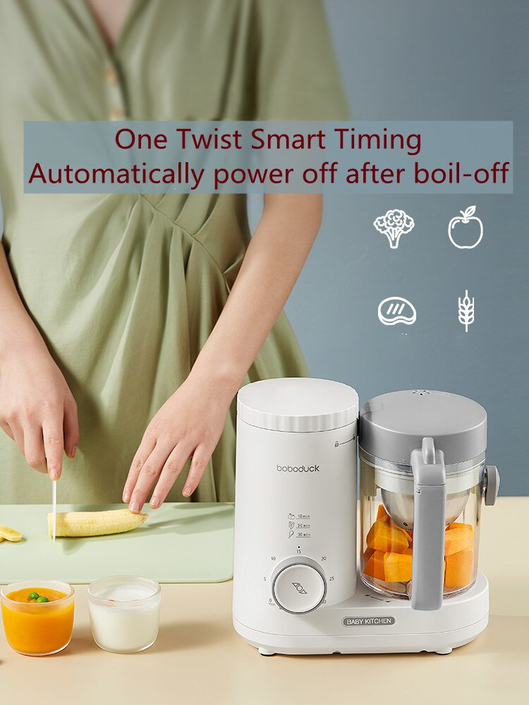 2021 Newest  Baby Food Supplement Machine   Cooking and Mixing Artifact   Small Multifunctional  Juicer
