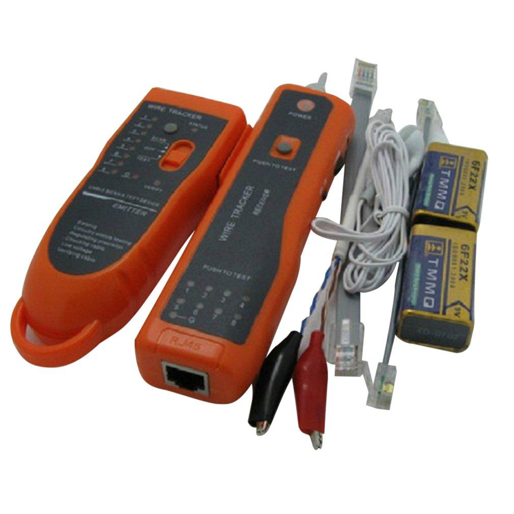 Utp Stp Cat5 Cat6 Rj45 Lan Network Cable Tester Line Finder Rj11 Telephone Wire Tracker Tracer Diagnose Tone Kit Xq-350