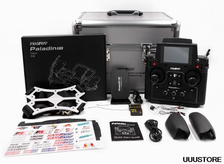 Flysky FS-PL18 EV 2.4 جرام 18CH ناقل موجات الراديو ث/FS-FGr12B RC استقبال HVGA 3.5 بوصة شاشات تعمل باللمس TFT ل FPV سباق الطائرة بدون طيار أجزاء