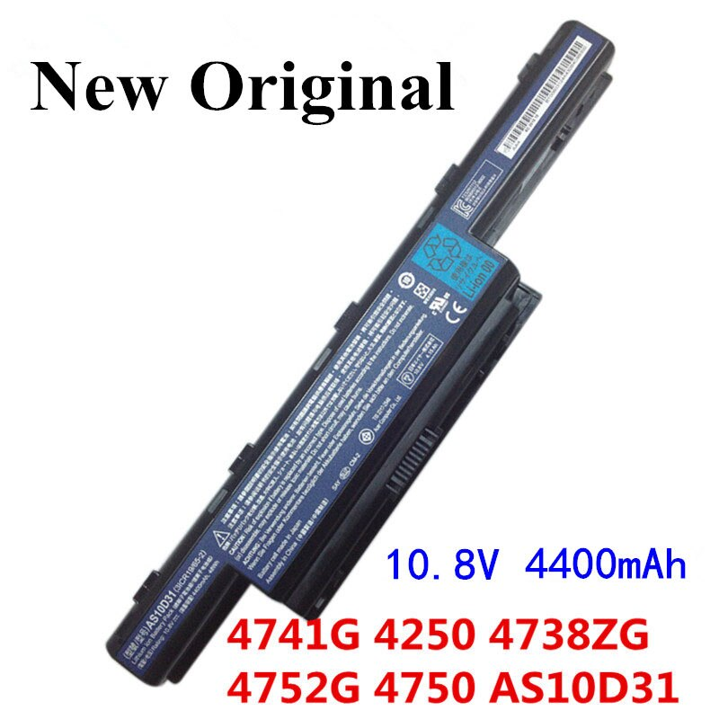 apexway new laptop battery as10d31 as10d51 as10d81 for acer aspire 4741 5750 5742g v3 571g v3 571g 771g for acer as10d61 as10d71 New Original Laptop replacement Li-ion Battery for Acer Aspire AS10D31 AS10D51 AS10D61 AS10D71 AS10D75 AS10D81 V3 5741 5560