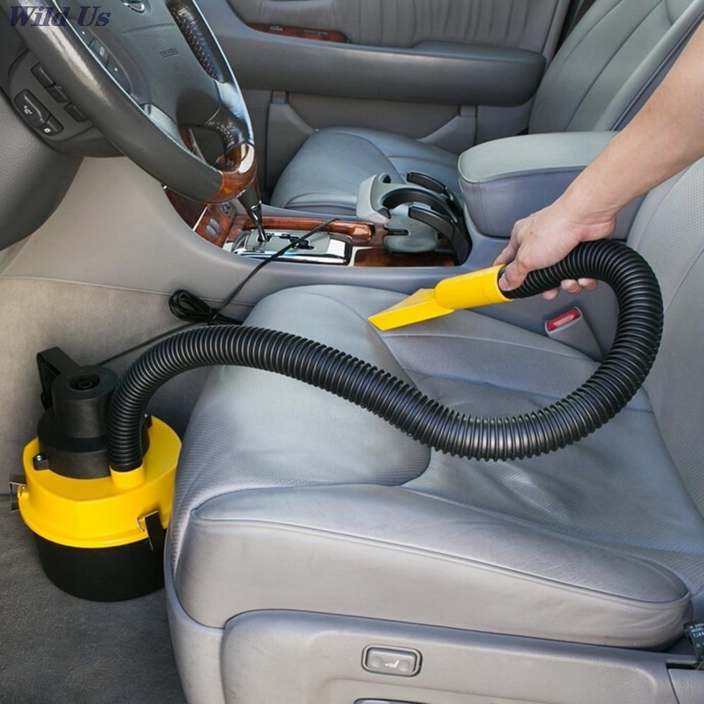 Автомобильный пылесос для сухой и влажной уборки, 12 В