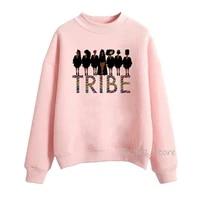 african curly hair black girl hoodie pink hoodies women kawaii clothes streetwear melanin tribe funny sweatshirt tracksuit felpe