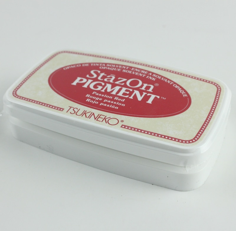 Tsukineko opaco solvente tinta StazOn pigmento almohadilla de tinta Japón nuevo estilo