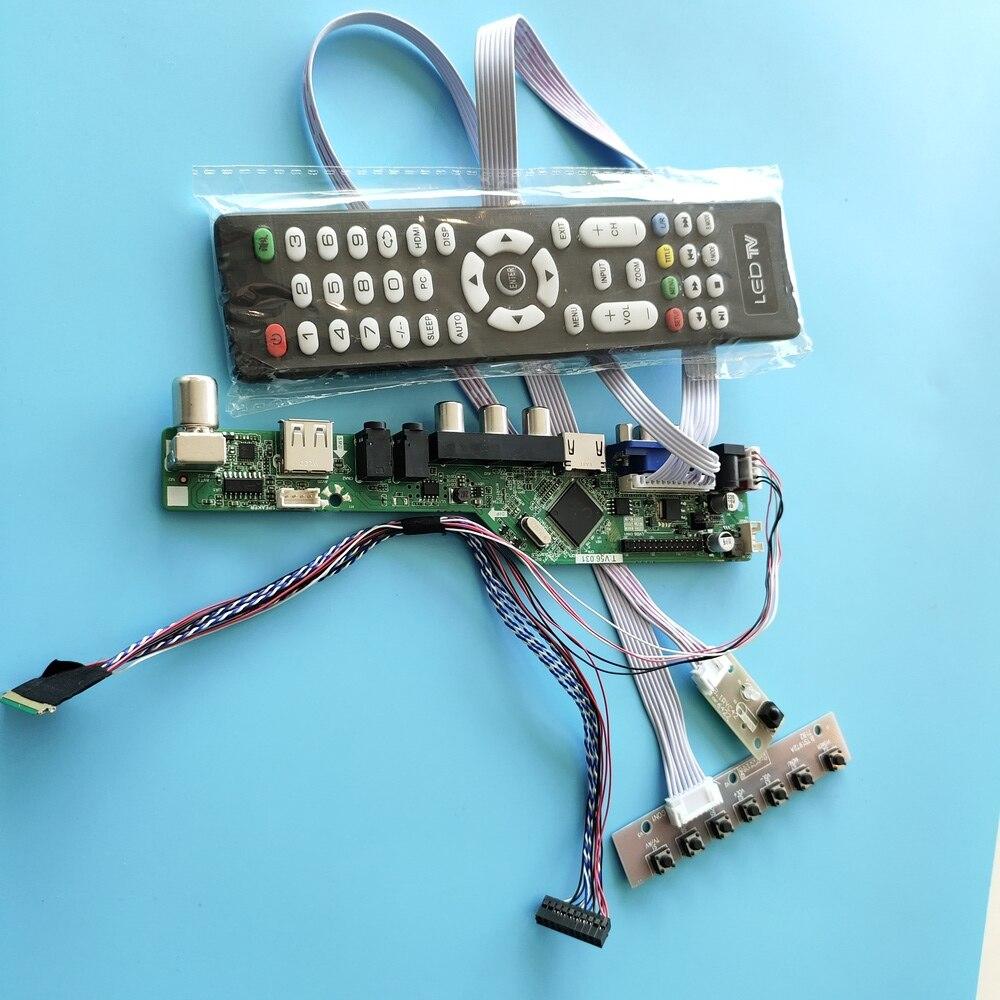 عدة ل LP156WH2(TL)(C2) 40pin LVDS VGA عن بعد وحدة تحكم USB لوحة للقيادة LCD LED التلفزيون AV لوحة الشاشة 15.6