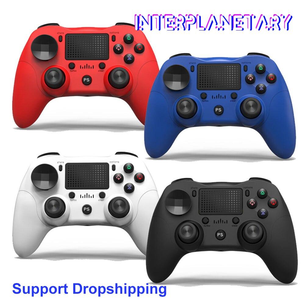 Mando de juego inalámbrico Bluetooth PS4 para PS4 DualShock Joystick vibratorio Gamepads para PS3 consola para PlayStation 4 reemplazar
