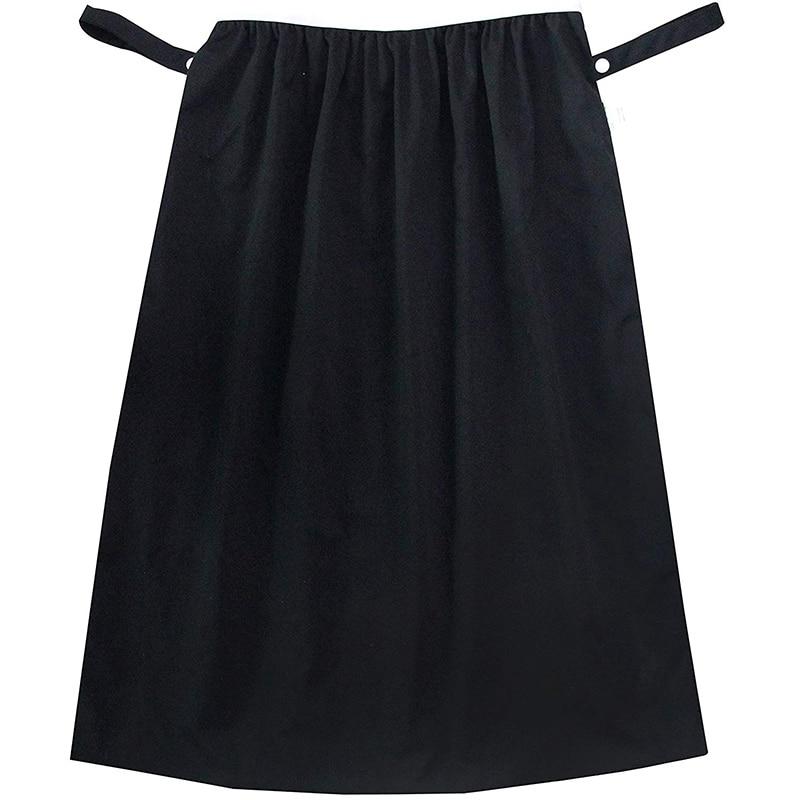 Forro de cubo de pañal reutilizable para pañales de tela, lavandería, bote de basura de cocina (negro)