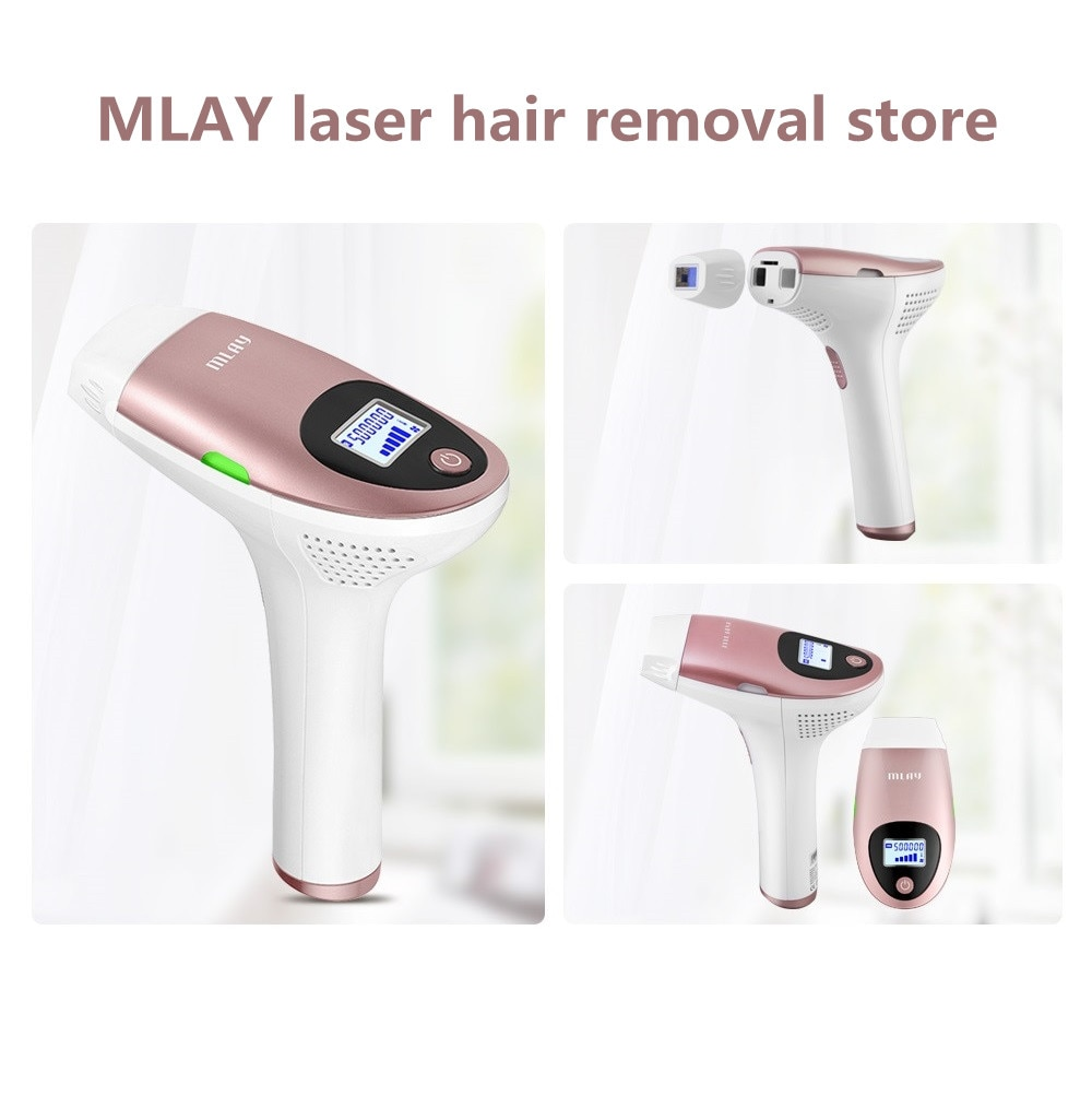 MLAY T3 500000 Flashes 3in1 IPL Epilator Permanent Hair Removal With LCD Display Machine Laser For Boay Bikini Face Underarm enlarge