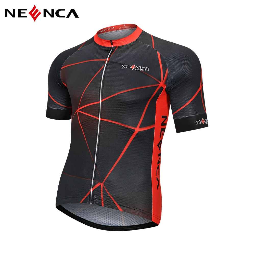 NEENCA Cycling Jersey men Pro Team Summer Cycling clothing Quick Dry Bicycle Short Sleeve Shirt Quick Dry Breathable nw cycling jersey for men quick dry short sleeve clothing set summer outdoor sportswear black retro cycling jersey for men