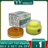 yellow and white color tensung whitening face cream removal freckle 25gpcs