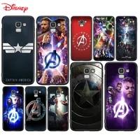 silicone cover avengers captain america for samsung galaxy j8 j7 duo j6 j5 prime j4 plus j3 j2 core 2018 2017 2016 phone case