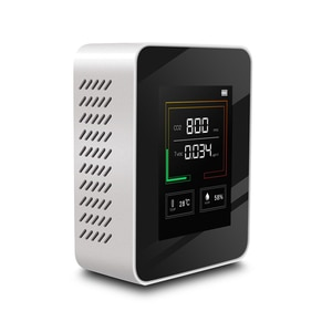 K03 Household Air Quality Detector Multifunctional C02 TVOC CO2 Meter Temperature Humidity Tester LCD Display with Backlight