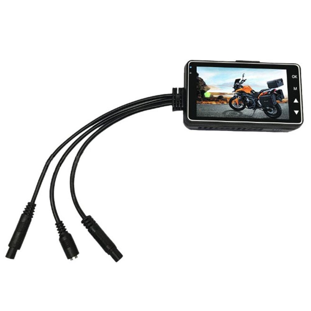 Мотоциклетная камера Dash Cam передняя задняя двойная линза электронный рекордер