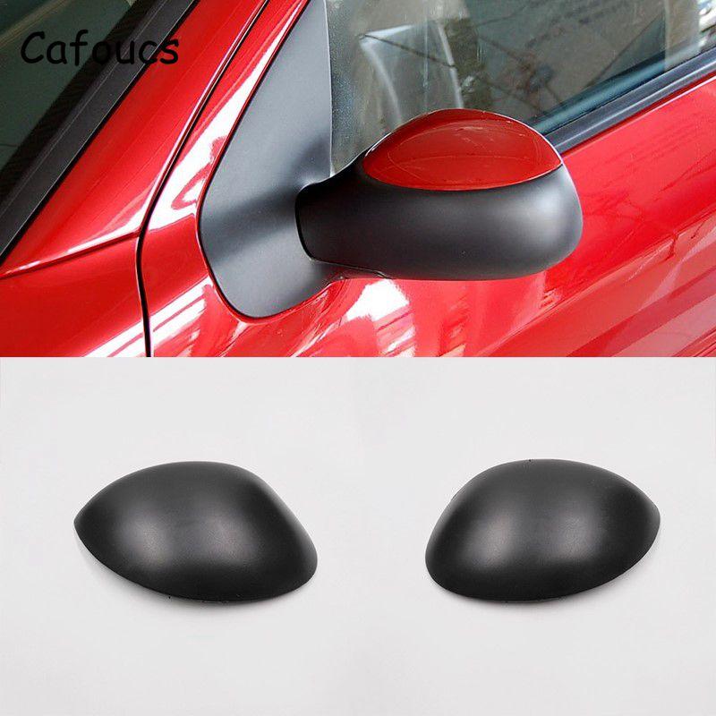 Cafoucs capa para espelho retrovisor, para peugeot 206 207, citroen c2 picasso