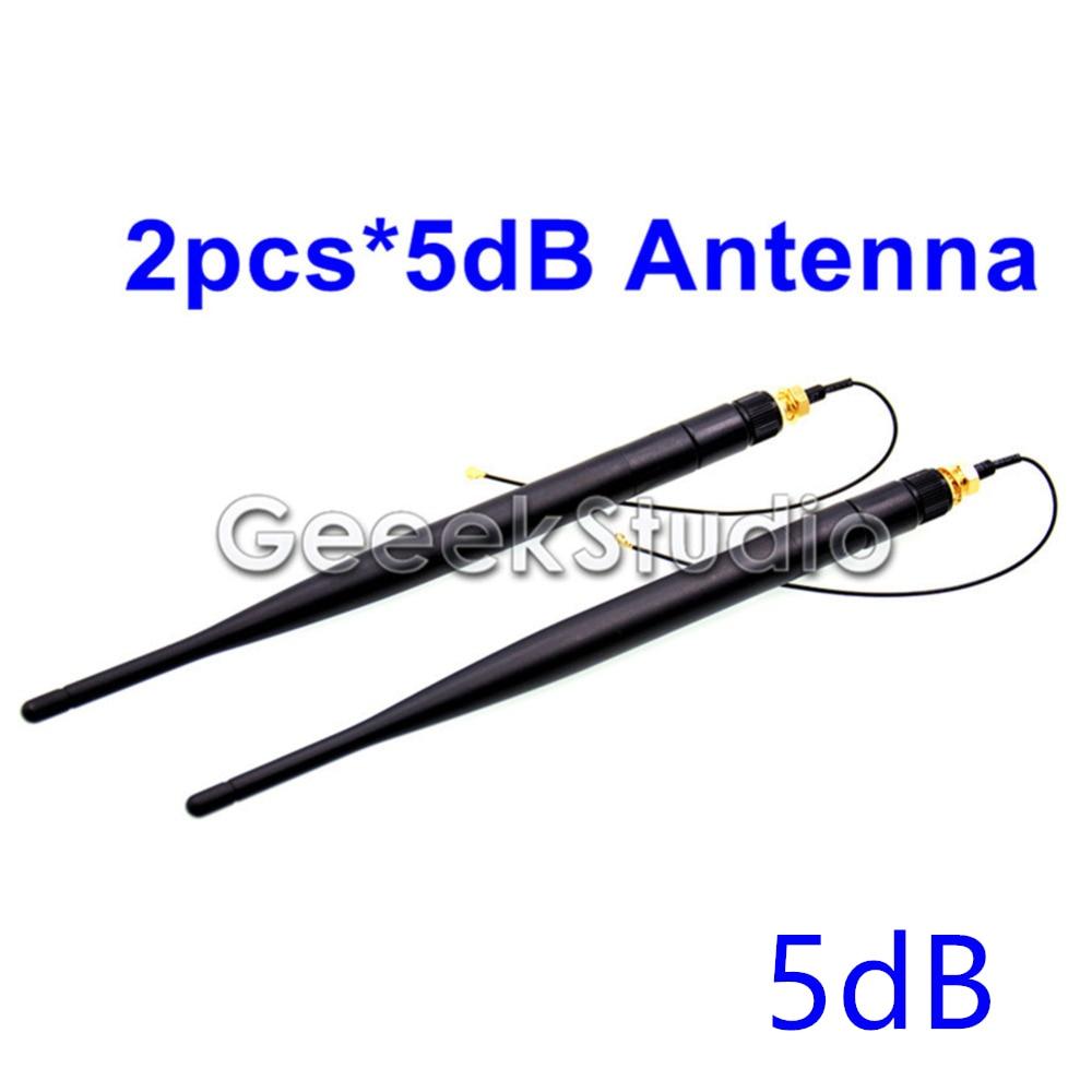 2pcs/lot 5dB WiFi Antenna for BPI-M64,BPI-M3,BPI-M2U,BPI-M2 Ultra,BPI-M1+plus.Banana PI BPI M64 M3 M2 ultra M2U M1+ antenna