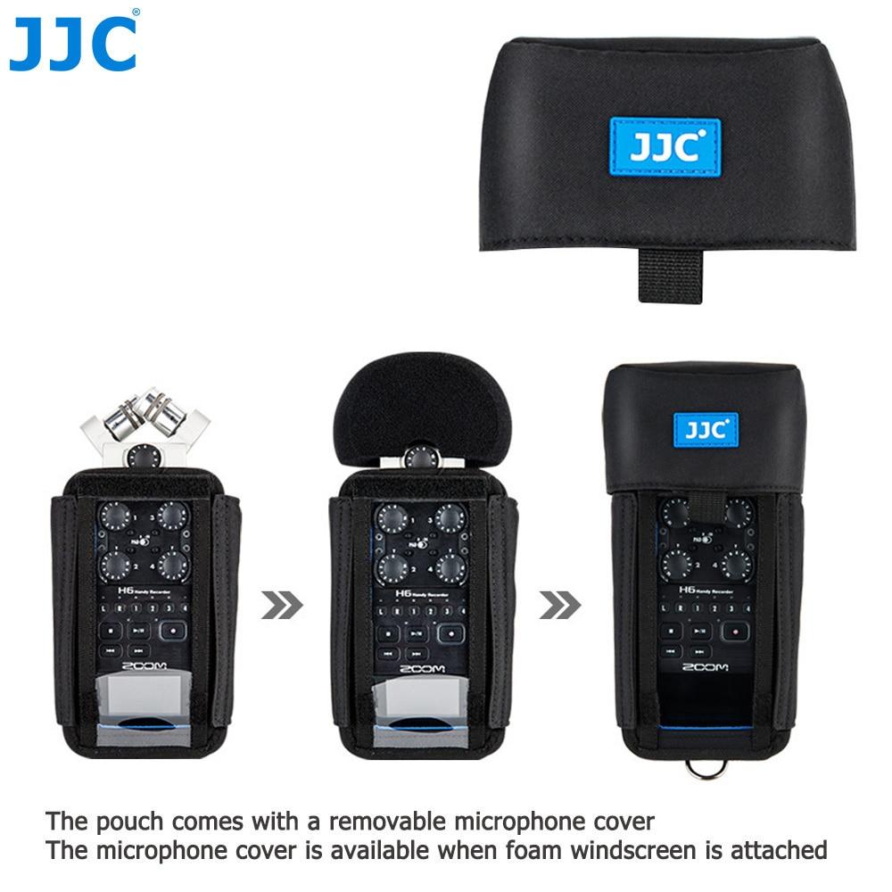 JJC-جراب كاميرا زووم لسجلات التكبير H6 H5 H4n H4n Pro ، جراب واقٍ للمسجل الرقمي ، ملحقات واقية