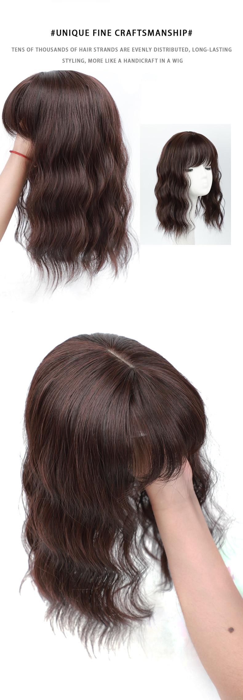 mulher que dilui o cabelo resistente ao