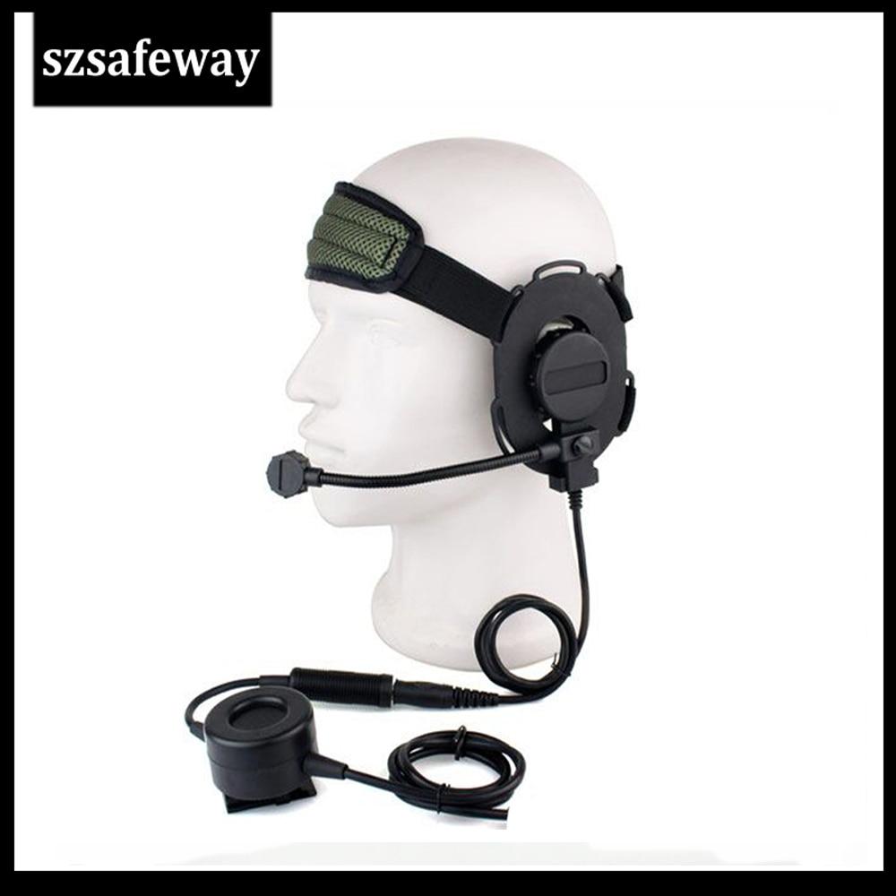 Z táctico Bowman Elite II Headset walkie talkie para Motorola hablar de TLKR T60 T80 T3 T5 T7 T6200