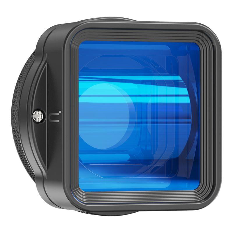 عدسة Ulanzi غير متبلور لآي فون 12 11 برو ماكس X 1.55X شاشة فيديو واسعة عريضة Slr فيلم فيديوميكر عدسة صانع الأفلام
