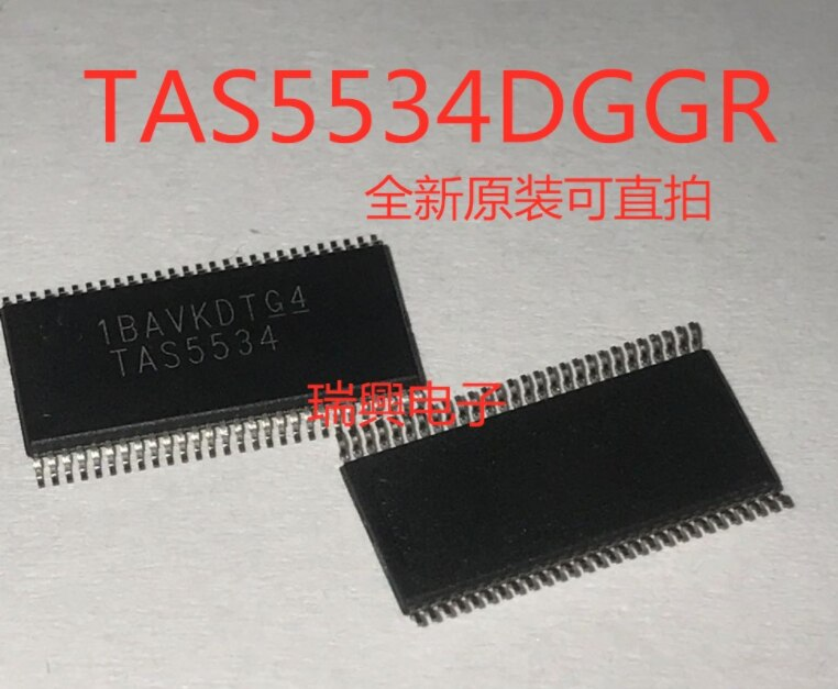 Nova 2 PCS-10 pçs/lote TAS5534 TAS5534DGGR TSSOP-56