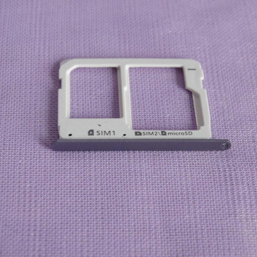 20 unids/lote de ranura para tarjeta Micro SD bandeja de simple/Dual SIM para Samsung Galaxy A3 A5 A7 2016 A310 A510 A710