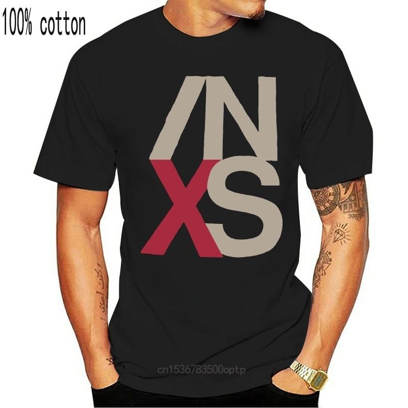 New Vintage INXS 1990 X USA Rock Concert Tour Rare T-Shirt Reprint USA Size S to 2XL