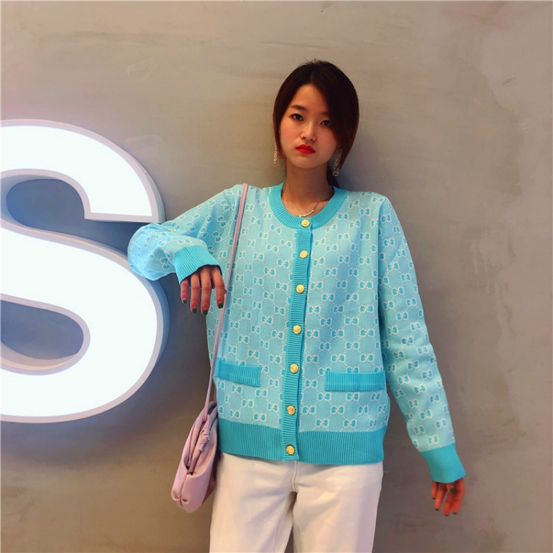 Korean Tide Quality Sweater Round Neck Loose Long Sleeve Early Autumn New Pattern Coat Japanese Fashion enlarge