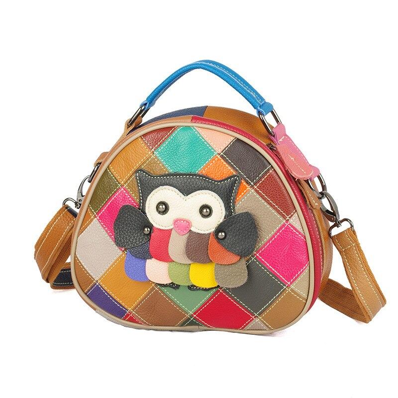 2020 Genuine Leather Women's Bag Colors Handbags for Women Animal Designer Hand Bag Borse Da Donna