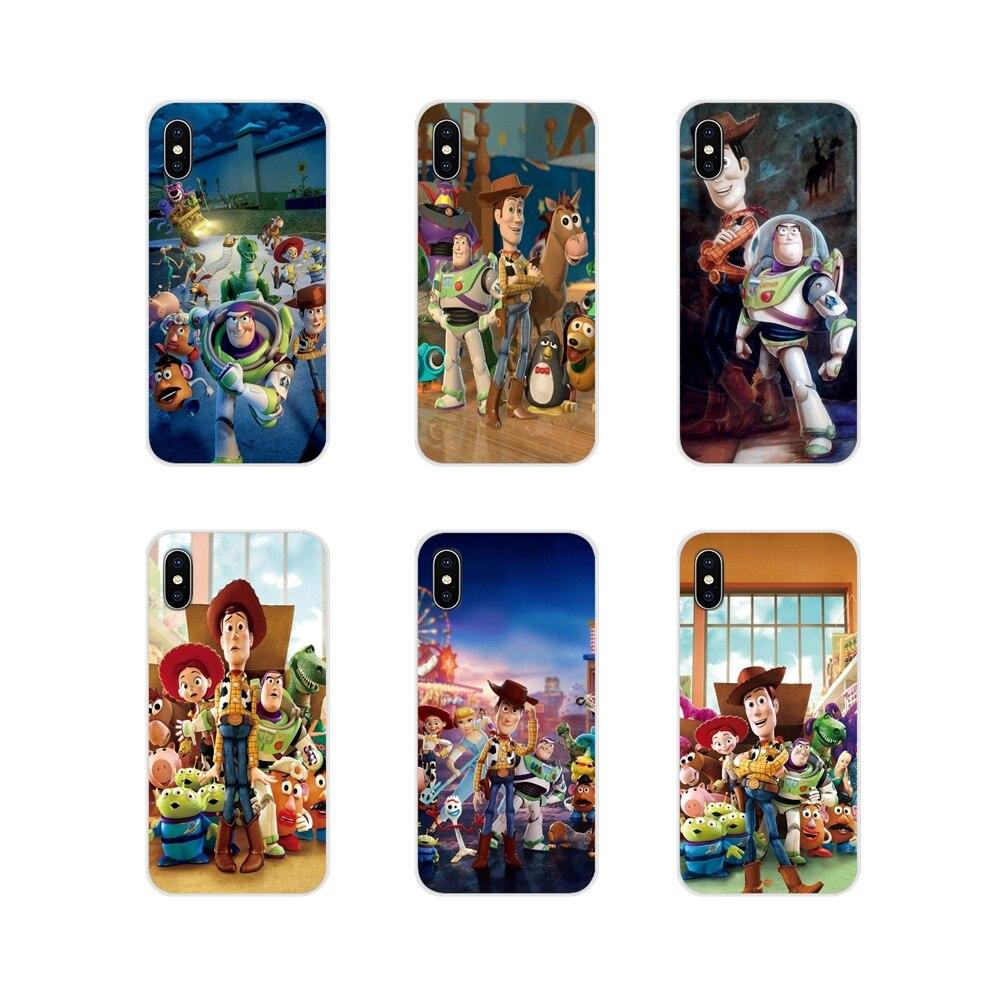 Funda rígida para teléfono móvil para Huawei G7 G8 P8 P9 P10 P20 P30 Lite Mini Pro P Smart Plus 2017 de 2018 de 2019 juguetes historia John Lasseter Anime