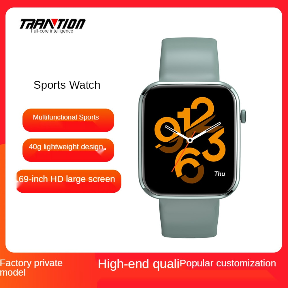 Lightweight smart bracelet watch high-definition touch screen large multi-function strong battery life Bluetooth K10