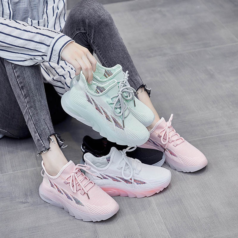 2021 Summer New Women Sneakers Running Shoes Female Vulcanized Women's Casual Flats Walking Shoes Ladies Summer Plus Size