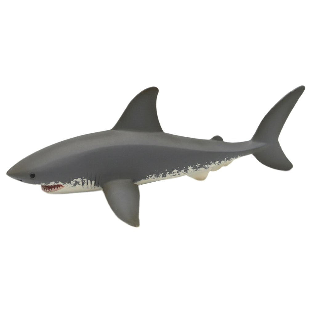 Lifelike Baby Shark Toy Anti Stress Squeeze Big Shark Collection Toy For Kid Gift Great White Shark Model shark