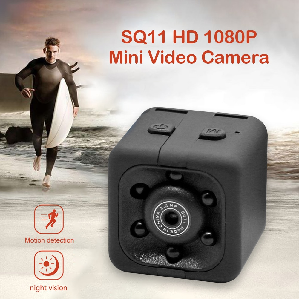 1080P HD DV Sports Video Camcorder View Action Sports Camera Kit 200mAh Built-in Microphone Mini Action Camera