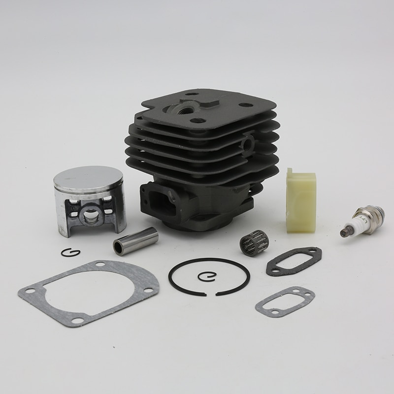 52mm Big Bore Cylinder Piston Intake Spacer Spark Plug Gaskets Kit For Husqvarna 266XP 266 XP SE 272 Chainsaw Spare Parts