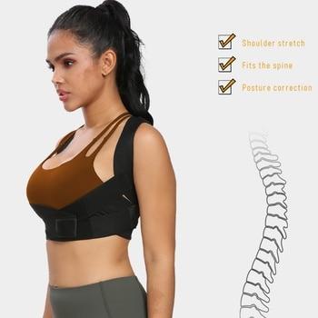 New Arrivals Women Sports Chest Back Support Belt Posture Shoulder Corrector Back Orthopedic Back Corrector Brace Straightener