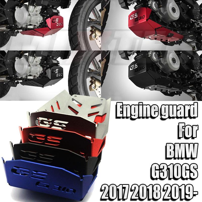 Para BMW G310GS G310 GS 2017-2019G 310 GS 17-19 de la motocicleta chasis expedición Placa de deslizamiento del motor chasis cubierta protectora guardia