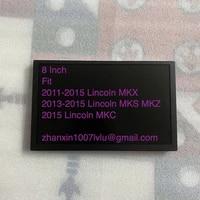 original 8 lcd display glass digitizer sync 2 fit lincoln mkc mks mkz mkx car dvd audio radio multimedia player navigation