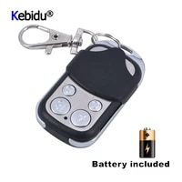 12v 27a 4 channel universal wireless 433mhz electric gate garage door cloning remote control gate copy code with key fob