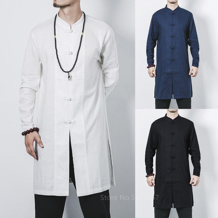 Muslim Fashion Clothing Men Islamic Saudi Arabic Kaftan Long Sleeve Robes Abaya Male Solid Color Jubba Thobe Middle East M-5XL