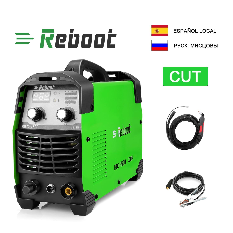 IGBT Air Plasma cutter CUT45 220V clean cutting Inverter Cutting Machine Great to cut all steel Maximum cutting thickness 15mm