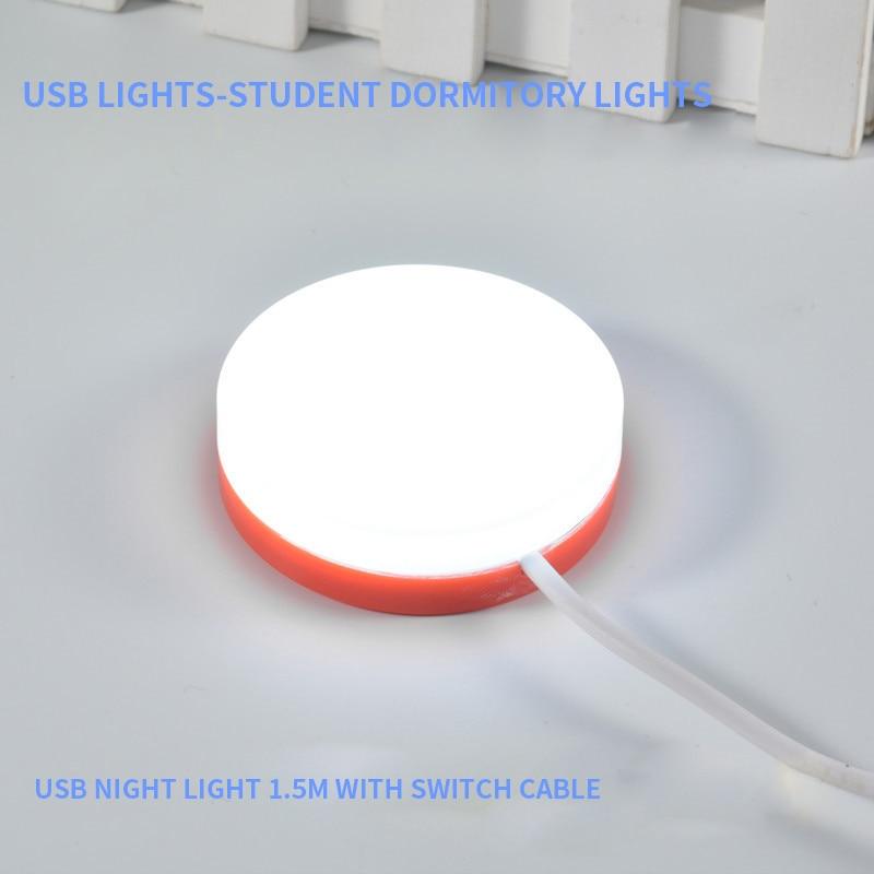 Portable USB LED Mini Book Light Reading Light Table Lamp Flexible 10 LEDs USB Lamp for Power Bank Laptop Notebook PC Computer
