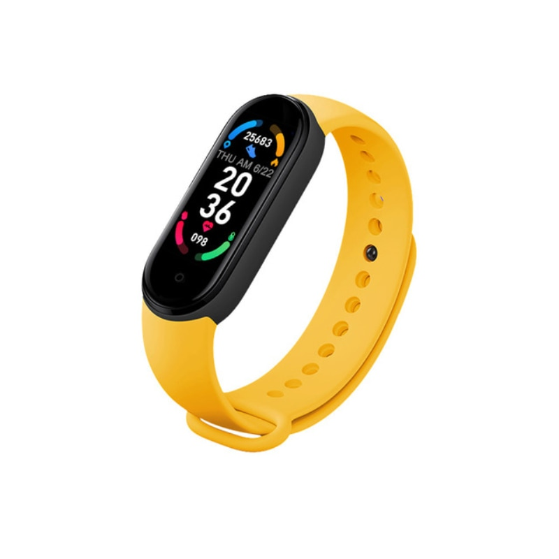 M6 Smart Bracelet Watch Fitness Tracker Smartband Heart Rate Blood Pressure Monitor Smart Band For IOS Android Phone